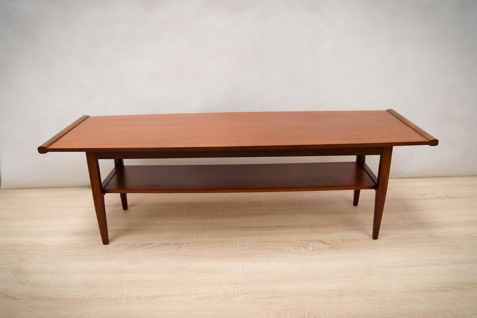 Atomic Teak Coffee Table 1960s For Sale At Pamono