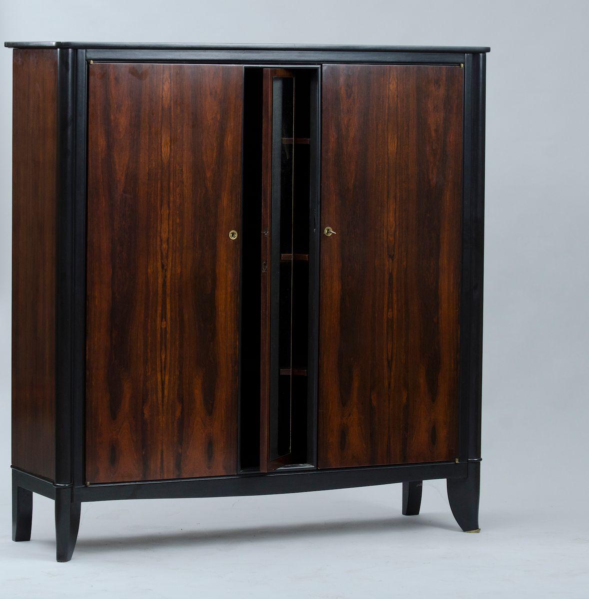 vintage art deco kleiderschrank bei pamono kaufen. Black Bedroom Furniture Sets. Home Design Ideas