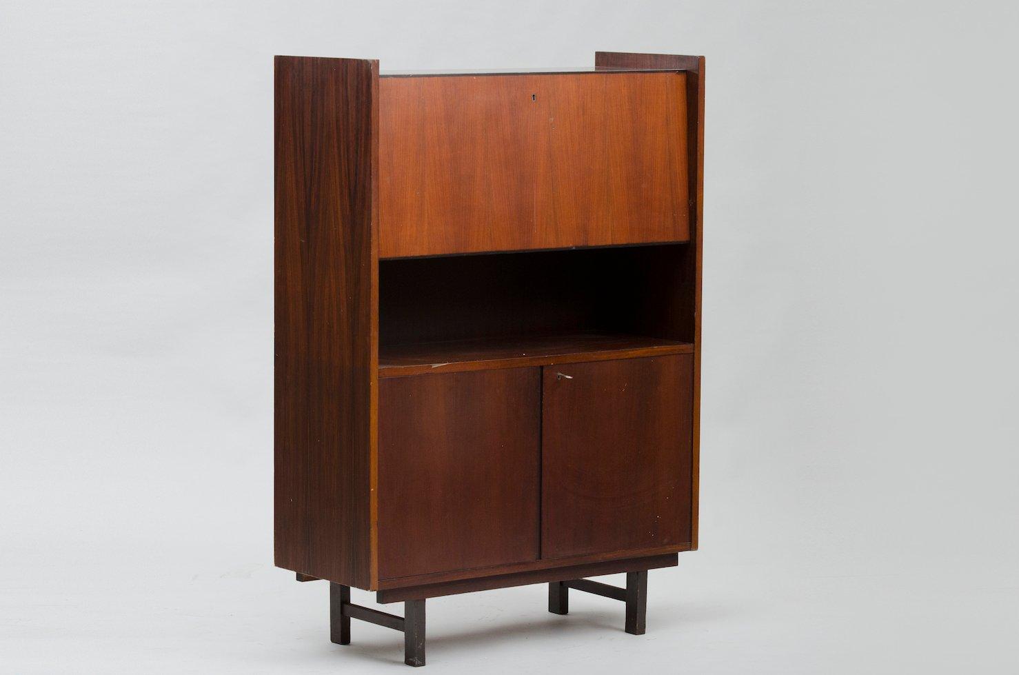 hoher vintage schrank aus palisander bei pamono kaufen. Black Bedroom Furniture Sets. Home Design Ideas
