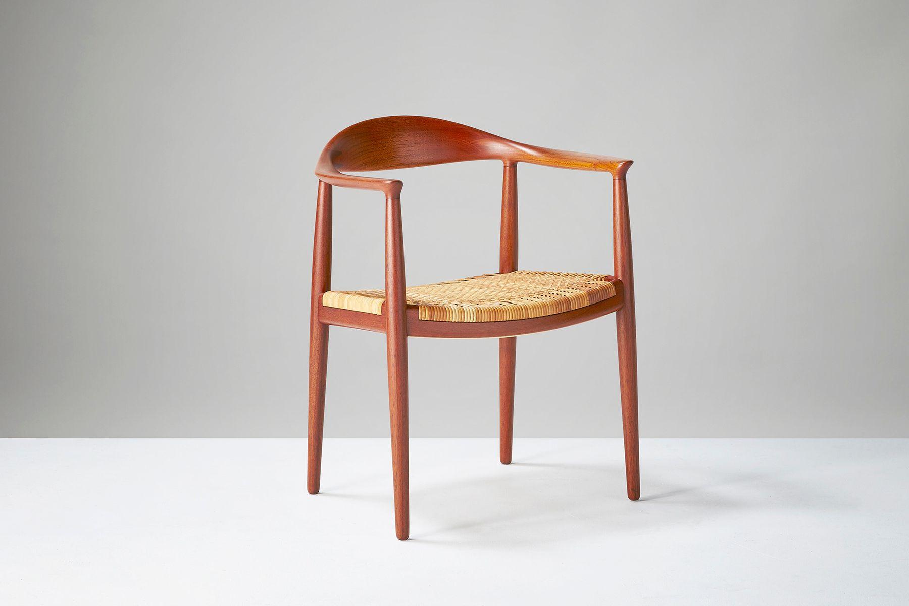 Vintage JH 501 The Chair by Hans J Wegner for Johannes Hansen for