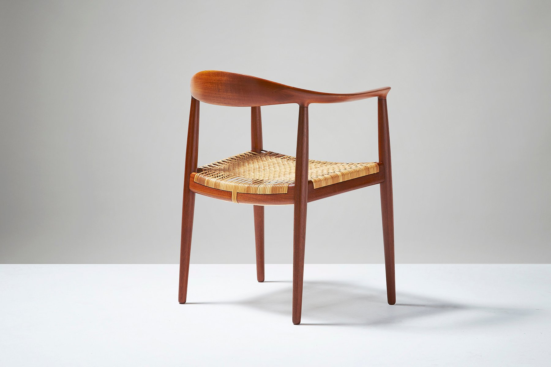 Vintage JH 501 The Chair by Hans J Wegner for Johannes Hansen for