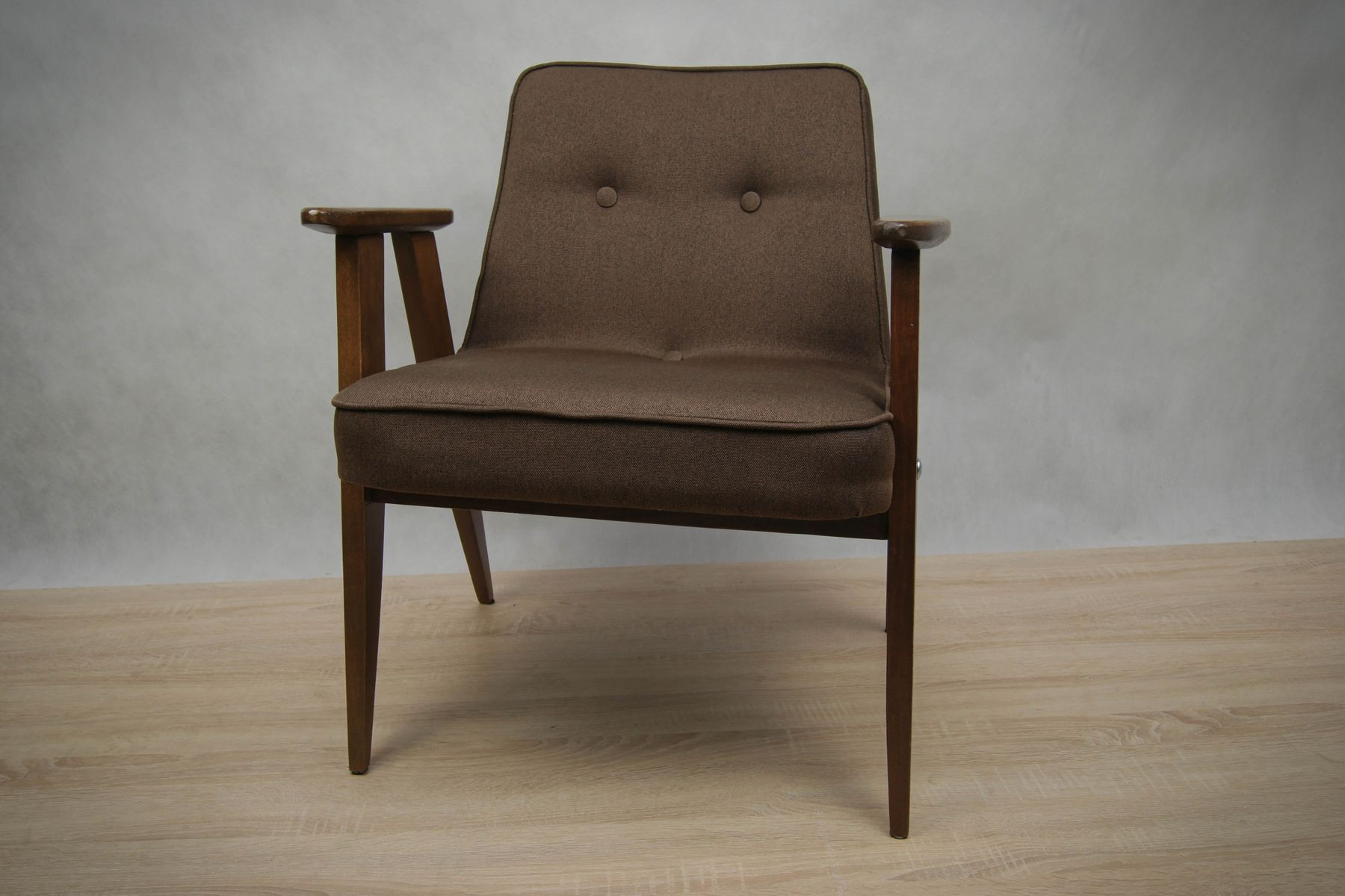 Mid century 366 armchair by j zef chierowski for lower for Furniture factory