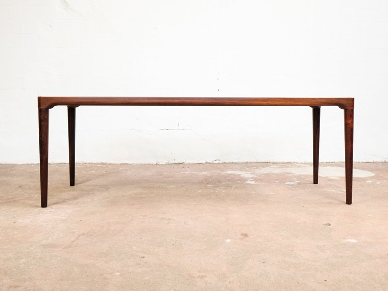 Exceptional Vintage Long Danish Coffee Table In Rosewood 5. U20ac920.00