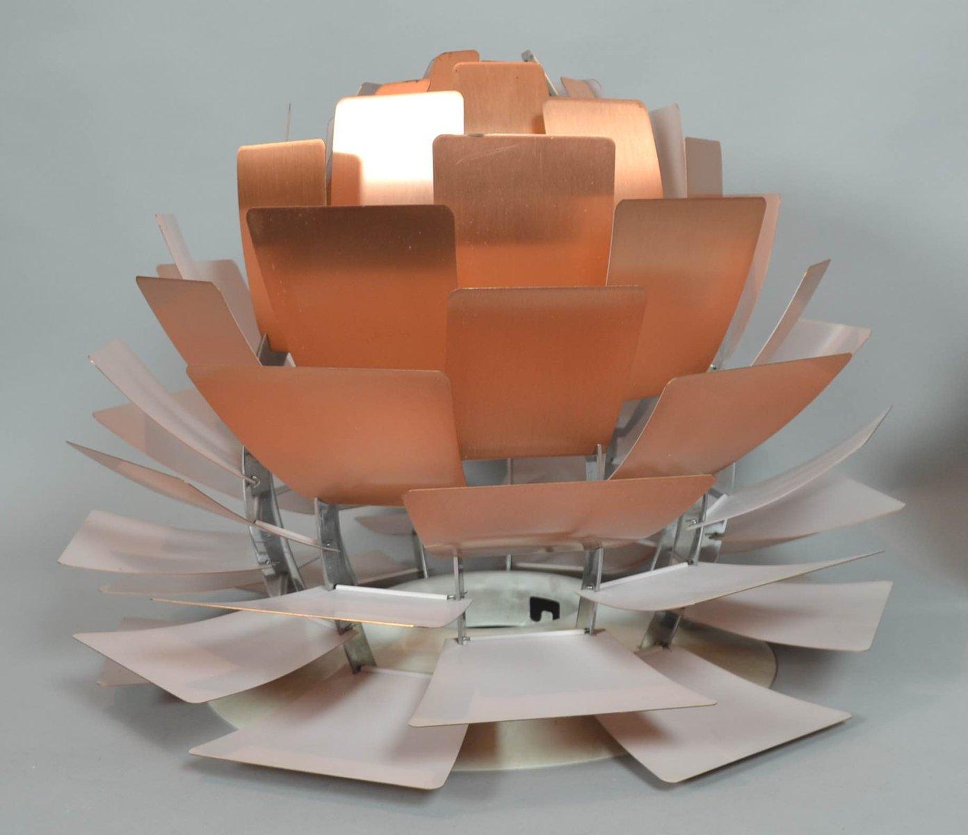 mid century ph zapfen kupferlampe von poul henningsen f r louis poulsen bei pamono kaufen. Black Bedroom Furniture Sets. Home Design Ideas