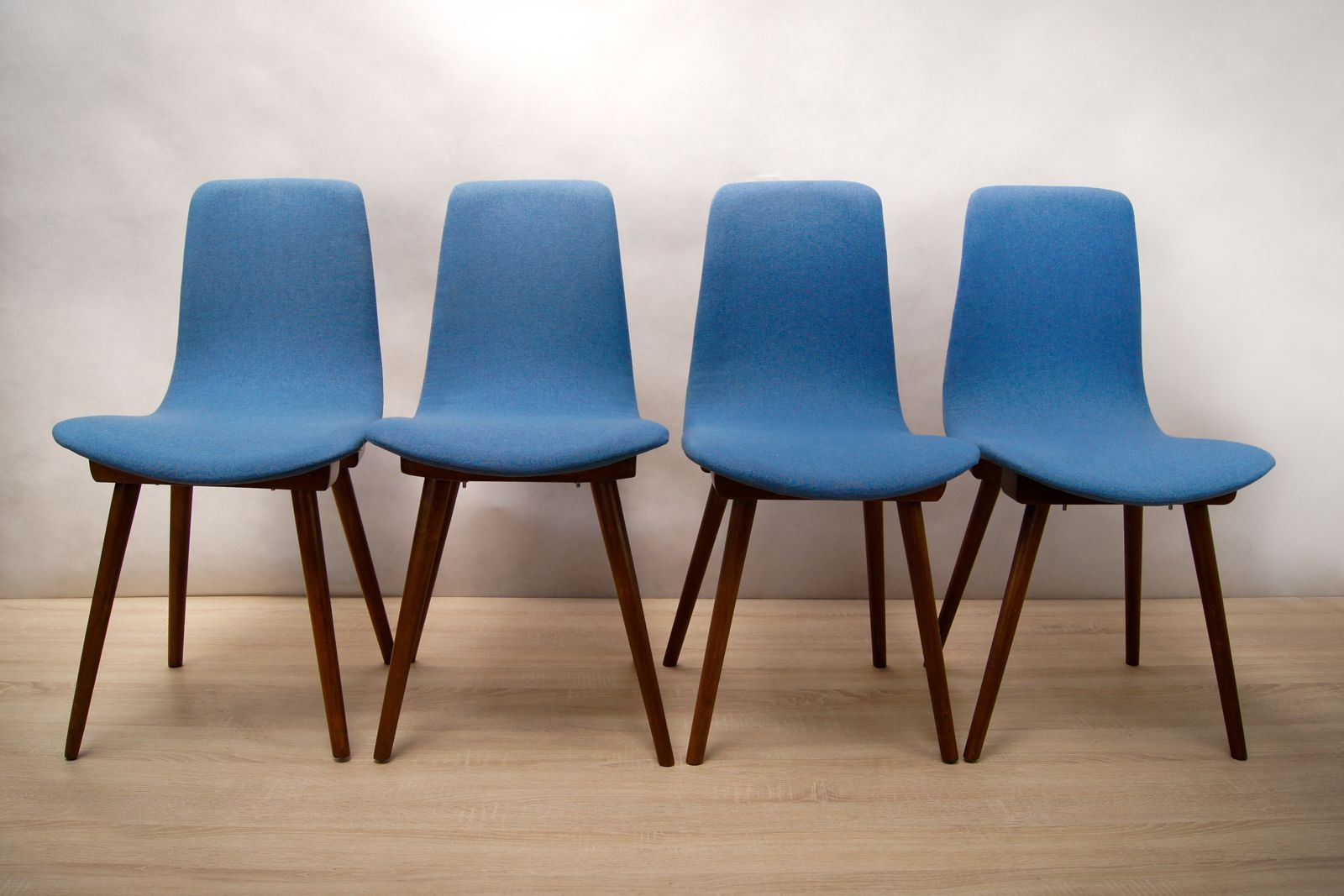 A 6150 Dining Chairs from Fameg 1960s Set of 4 for sale at Pamono