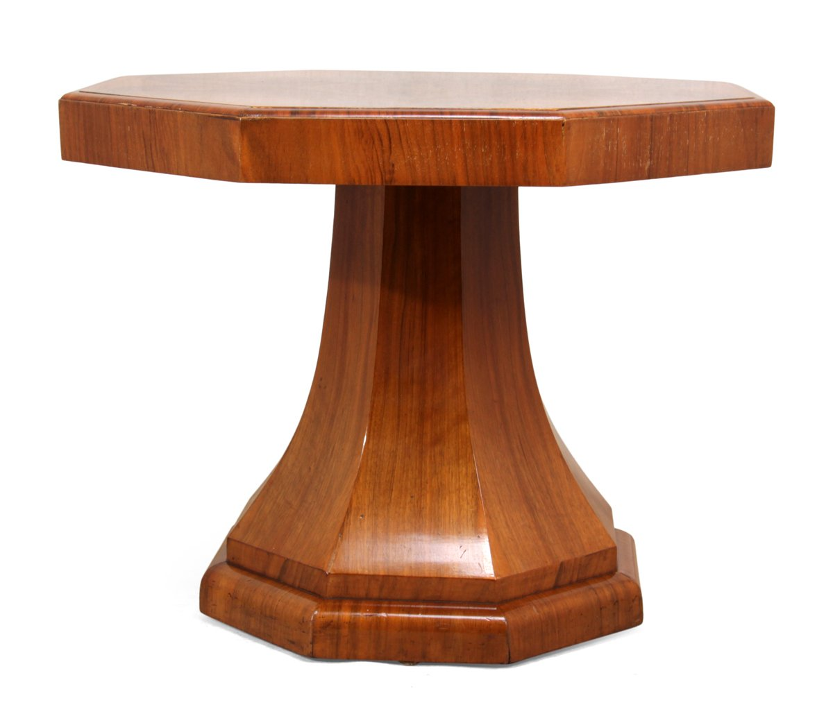 art deco cocktail table in walnut 1930s for sale at pamono. Black Bedroom Furniture Sets. Home Design Ideas