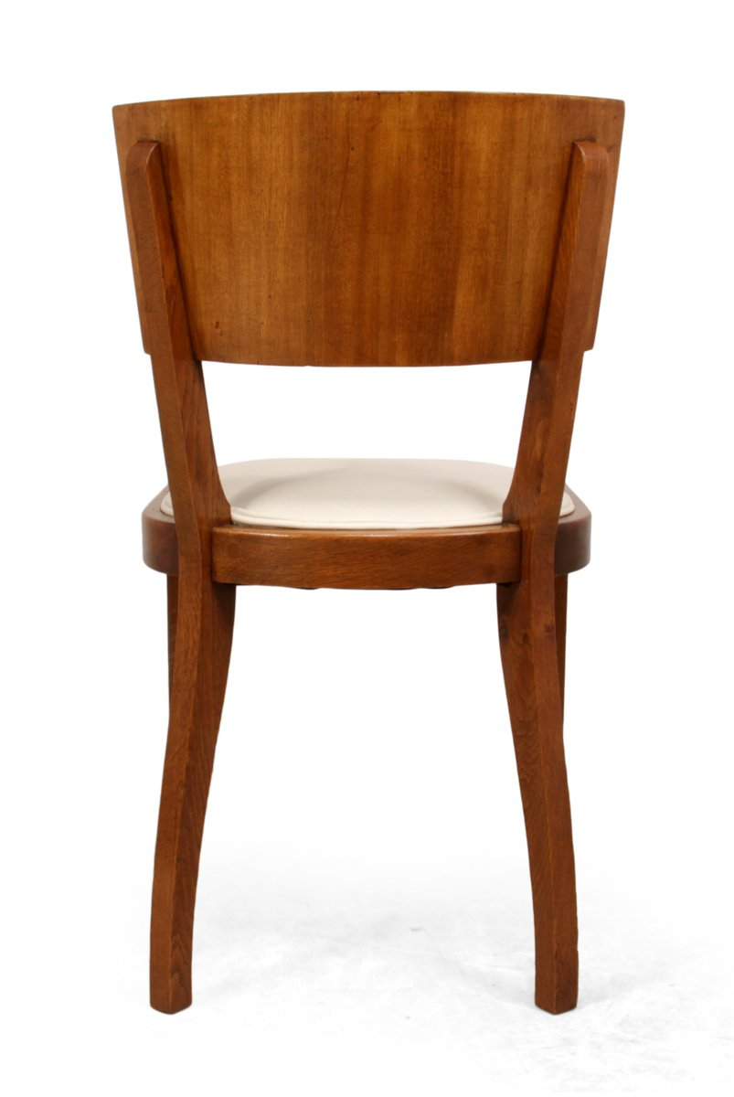 Art deco dining chairs 1930s set of 6 for sale at pamono for Chair design 1930