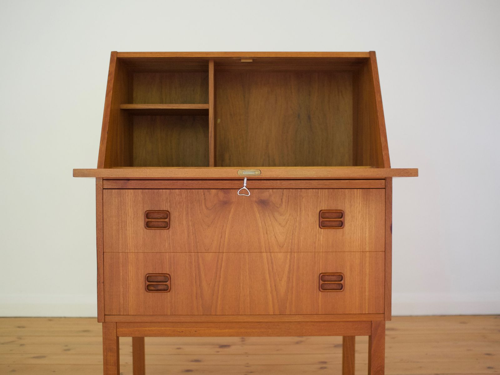 Danish compact writing desk by g nielsen tibergaard for