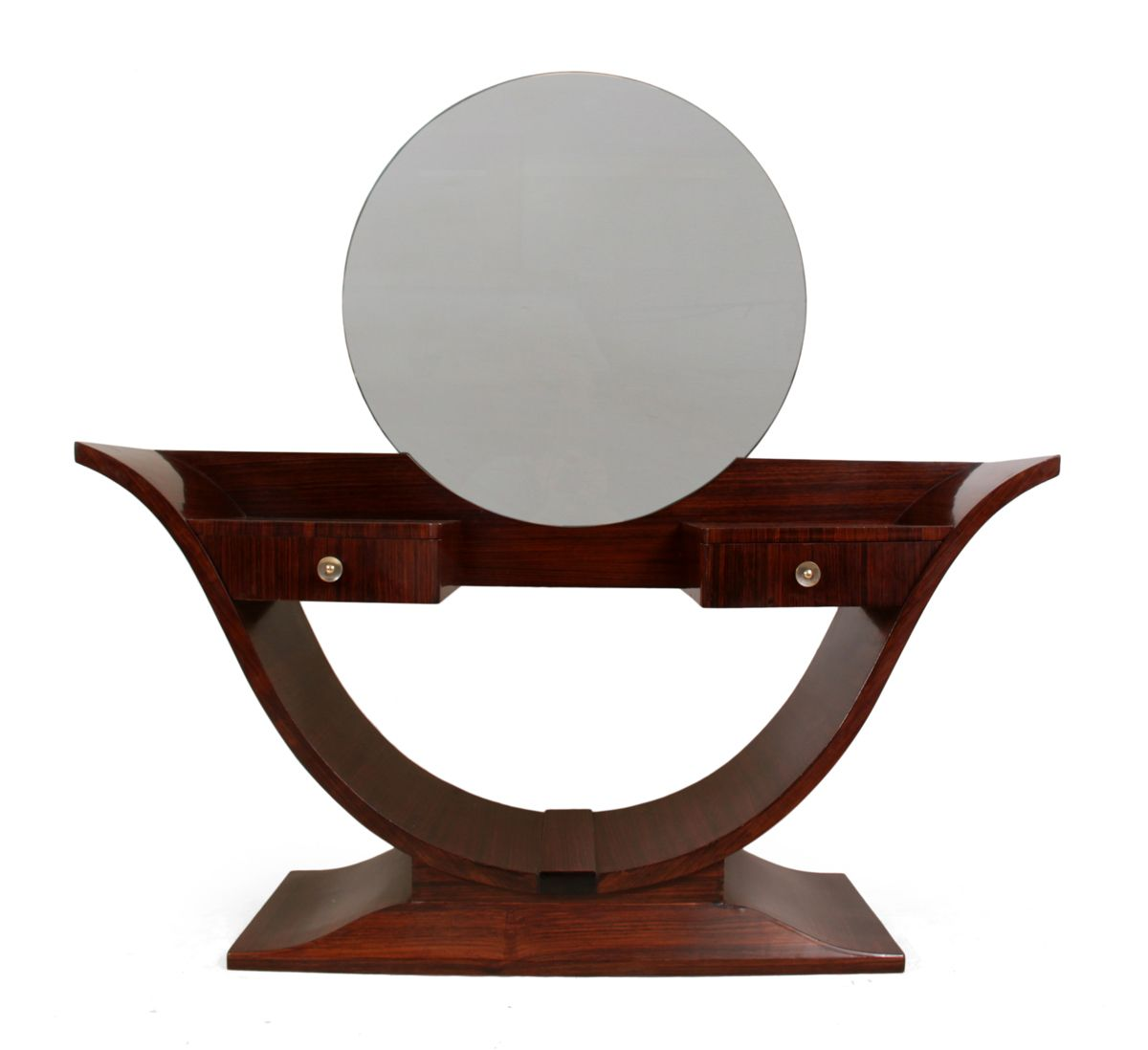 Art deco rosewood dressing table 1930s for sale at pamono for Miroir art deco 1930