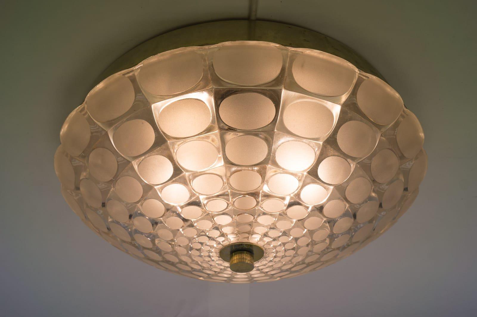 gro e geometrische lampe 1960er bei pamono kaufen. Black Bedroom Furniture Sets. Home Design Ideas