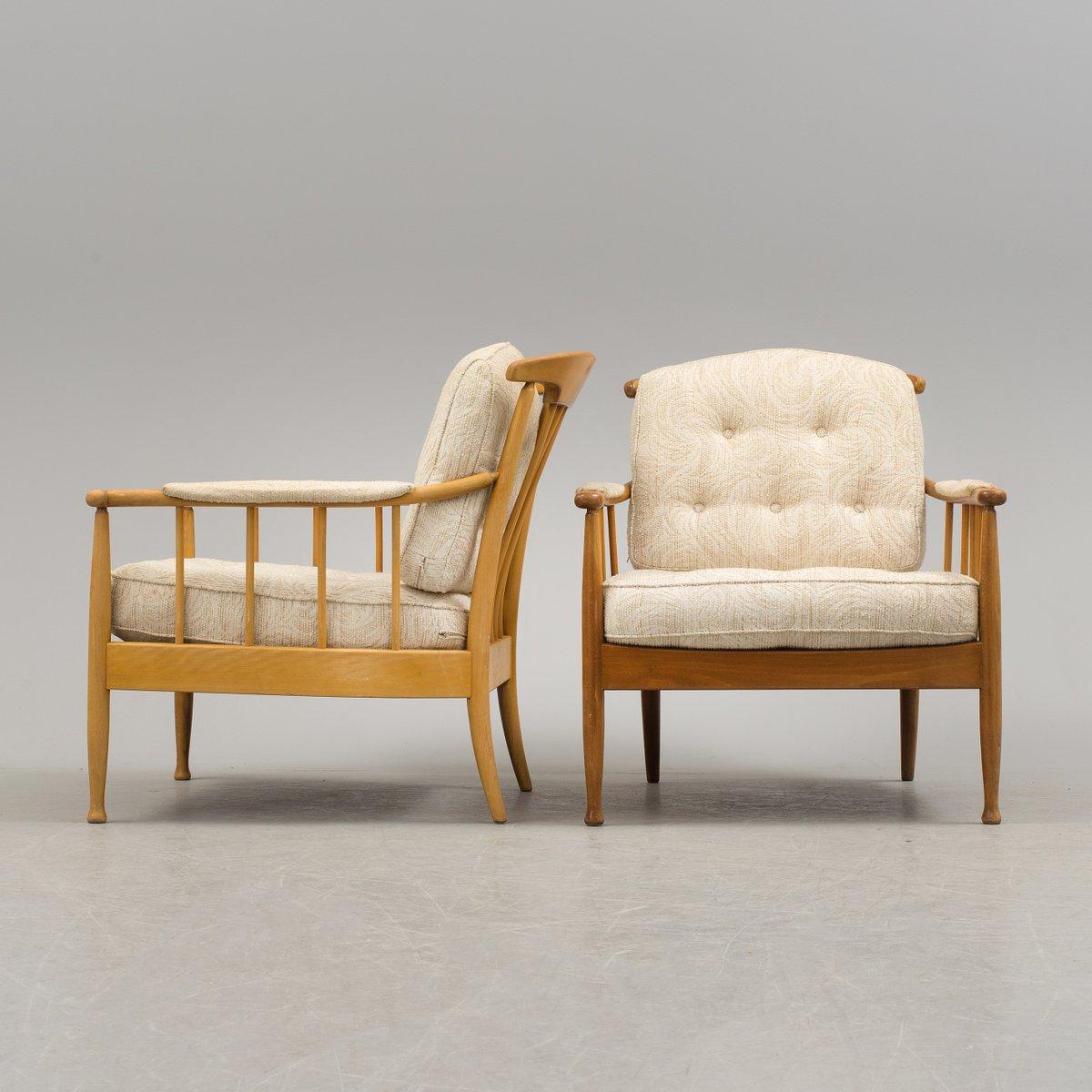 skandinavische vintage skrindan sessel von kerstin h rlin holmquist f r ope m bler 2er set bei. Black Bedroom Furniture Sets. Home Design Ideas