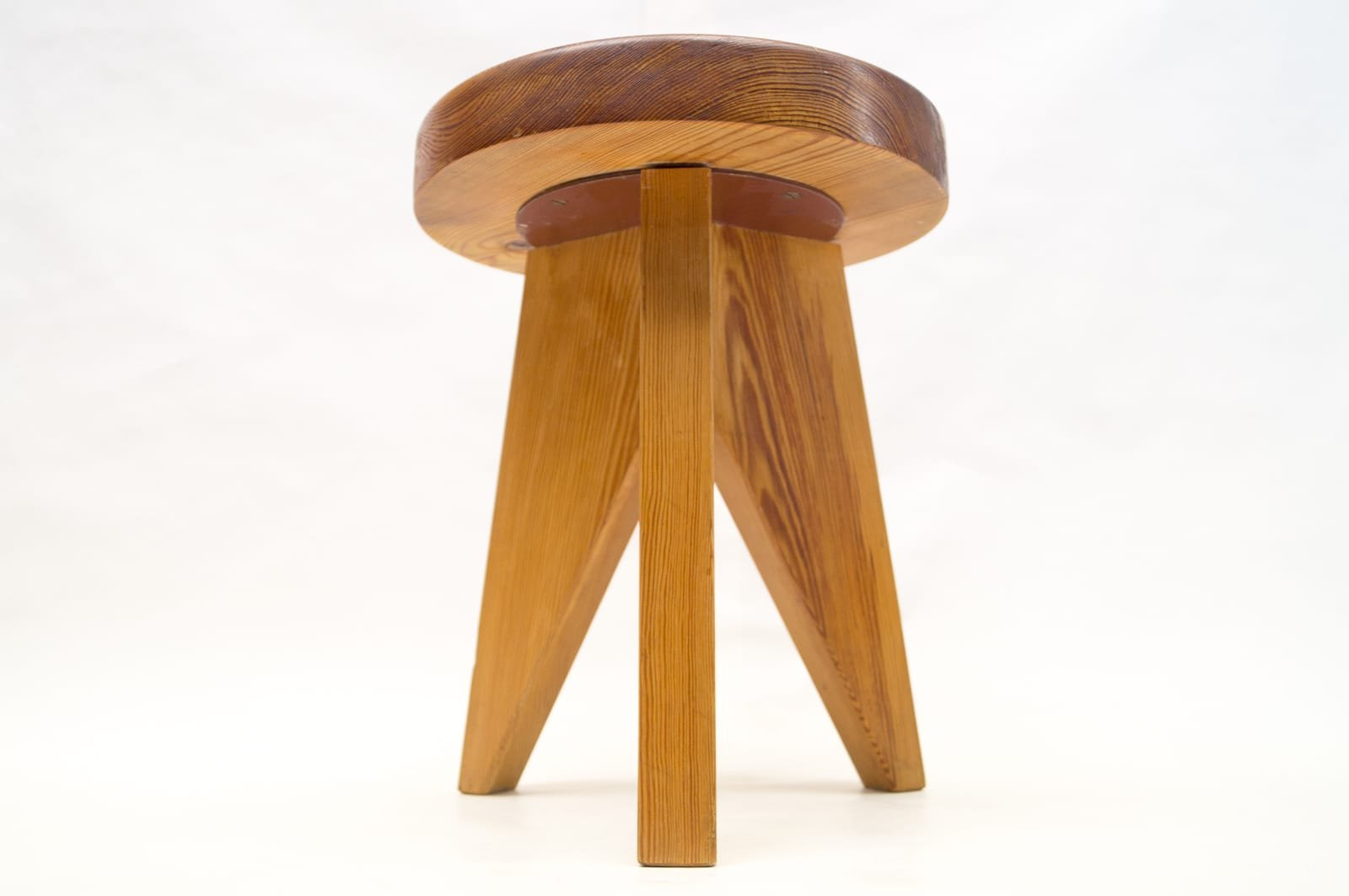 French Three-Legged Wooden Stool 1960s & French Three-Legged Wooden Stool 1960s for sale at Pamono islam-shia.org