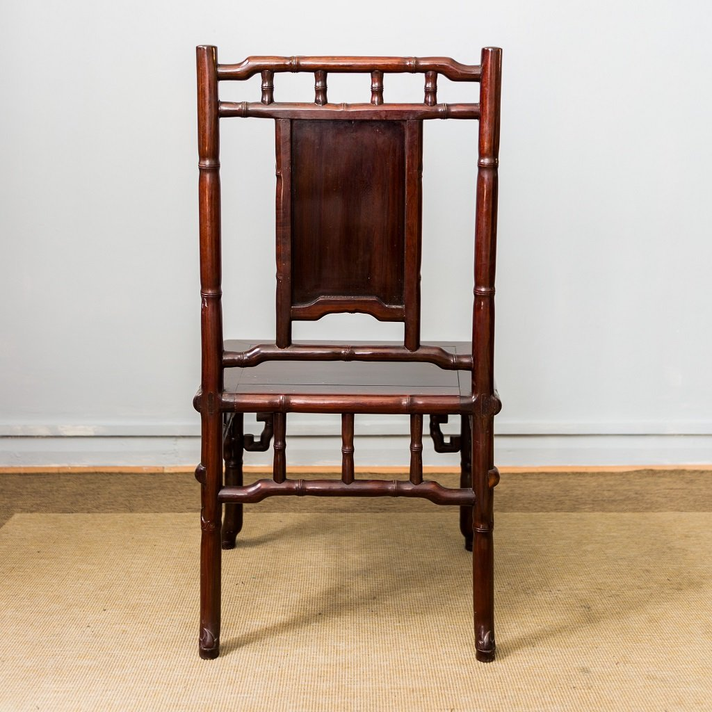 Vintage chinese rosewood chairs set of 4 for sale at pamono for Asian chairs for sale