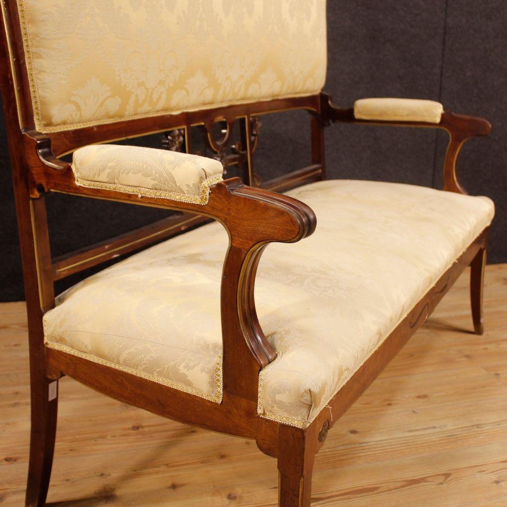 Spanish Sofa In Mahogany 1920s For Sale At Pamono