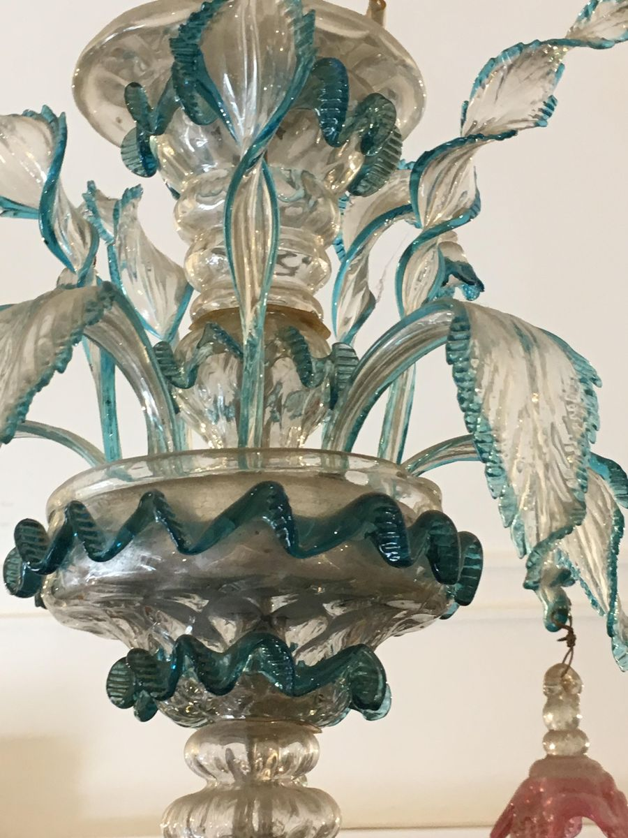 murano glas kronleuchter 1890er bei pamono kaufen. Black Bedroom Furniture Sets. Home Design Ideas