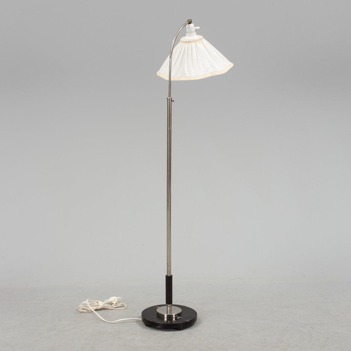 Scandinavian art deco floor lamp from zenith 1930s for sale at pamono scandinavian art deco floor lamp from zenith 1930s audiocablefo Light gallery