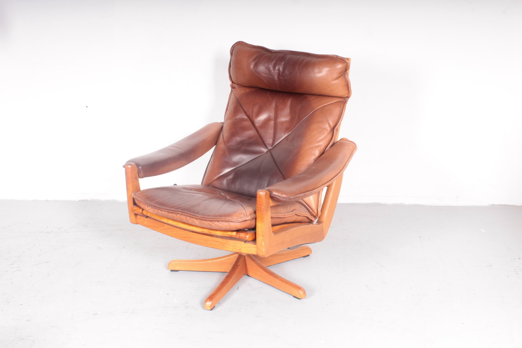 norwegian vintage office chair. vintage norwegian easy chair from sda galvano office n