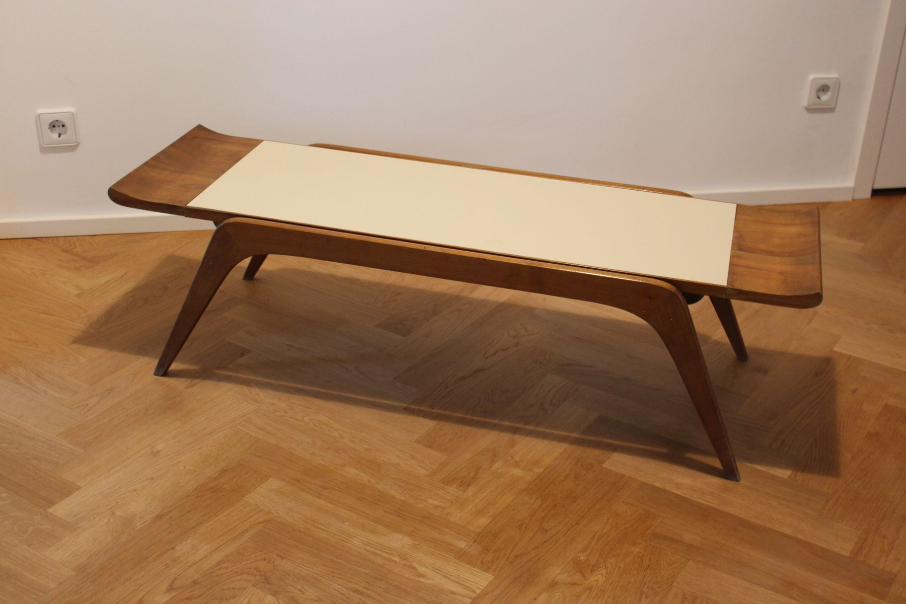Sculptural Italian Coffee Table 1950s For Sale At Pamono