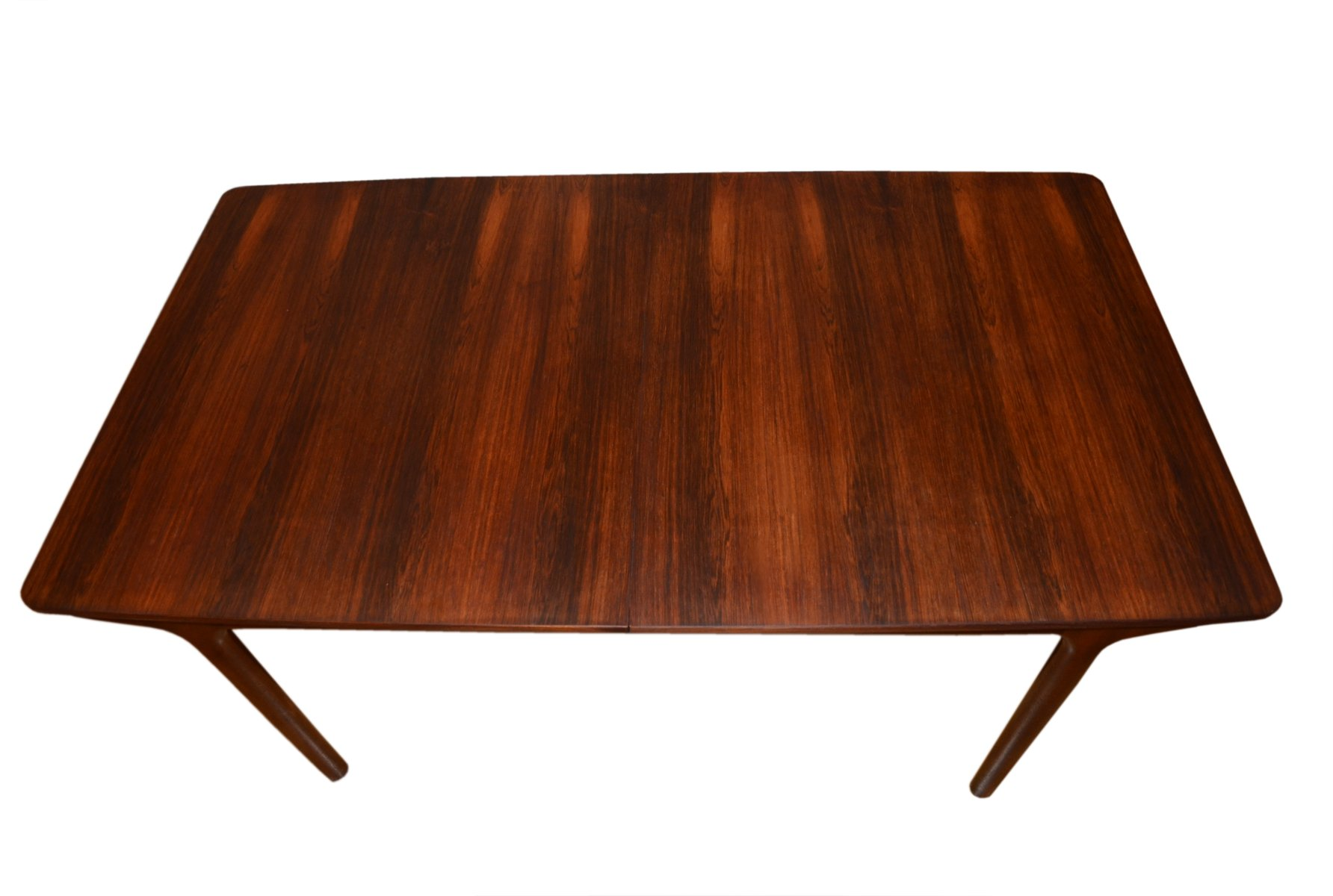grande table de salle manger rallonge mid century 12. Black Bedroom Furniture Sets. Home Design Ideas