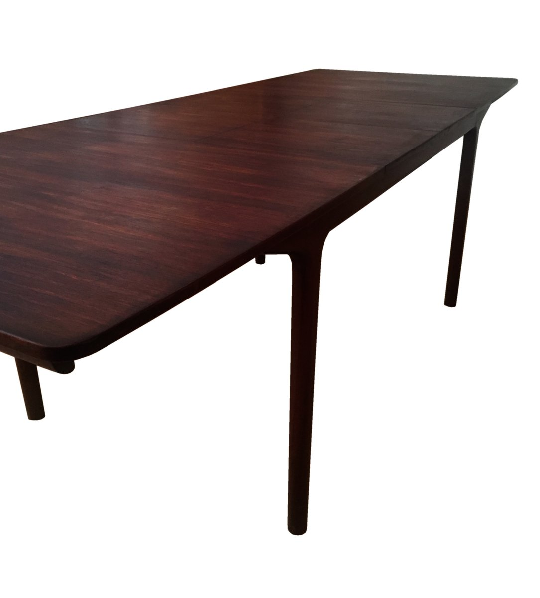 Large mid century 12 seater rosewood dining table by tom for 12 person dining table for sale