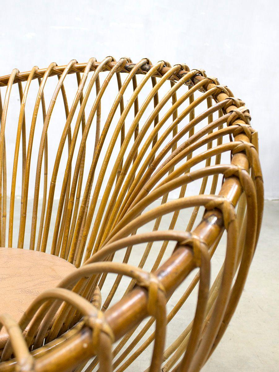 Vintage rattan chair - Vintage Rattan Lounge Chair 4 1 748 00 Price Per Piece
