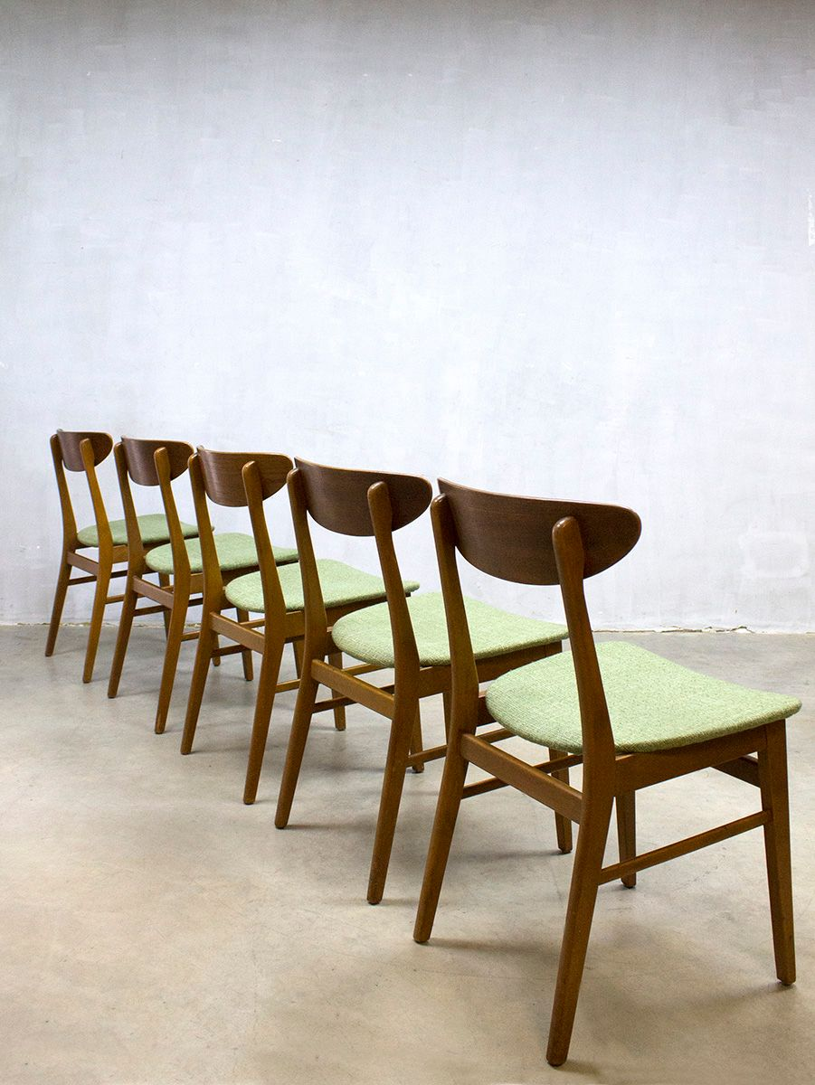 Vintage Danish Dining Chairs From Farstrup Møbler Set Of 5 For At Pamono