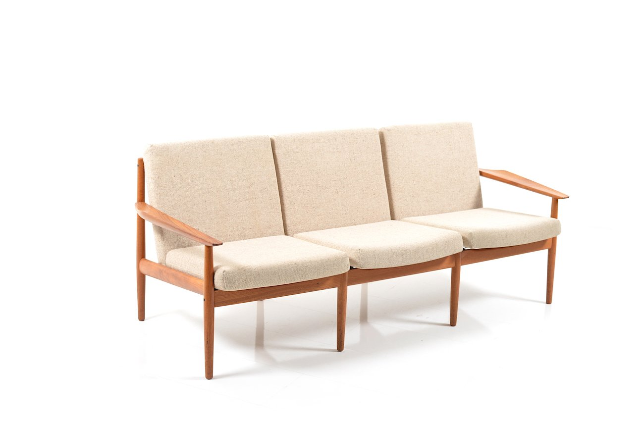 Mid Century Danish Teak Sofa By Arne Vodder For Glostrup