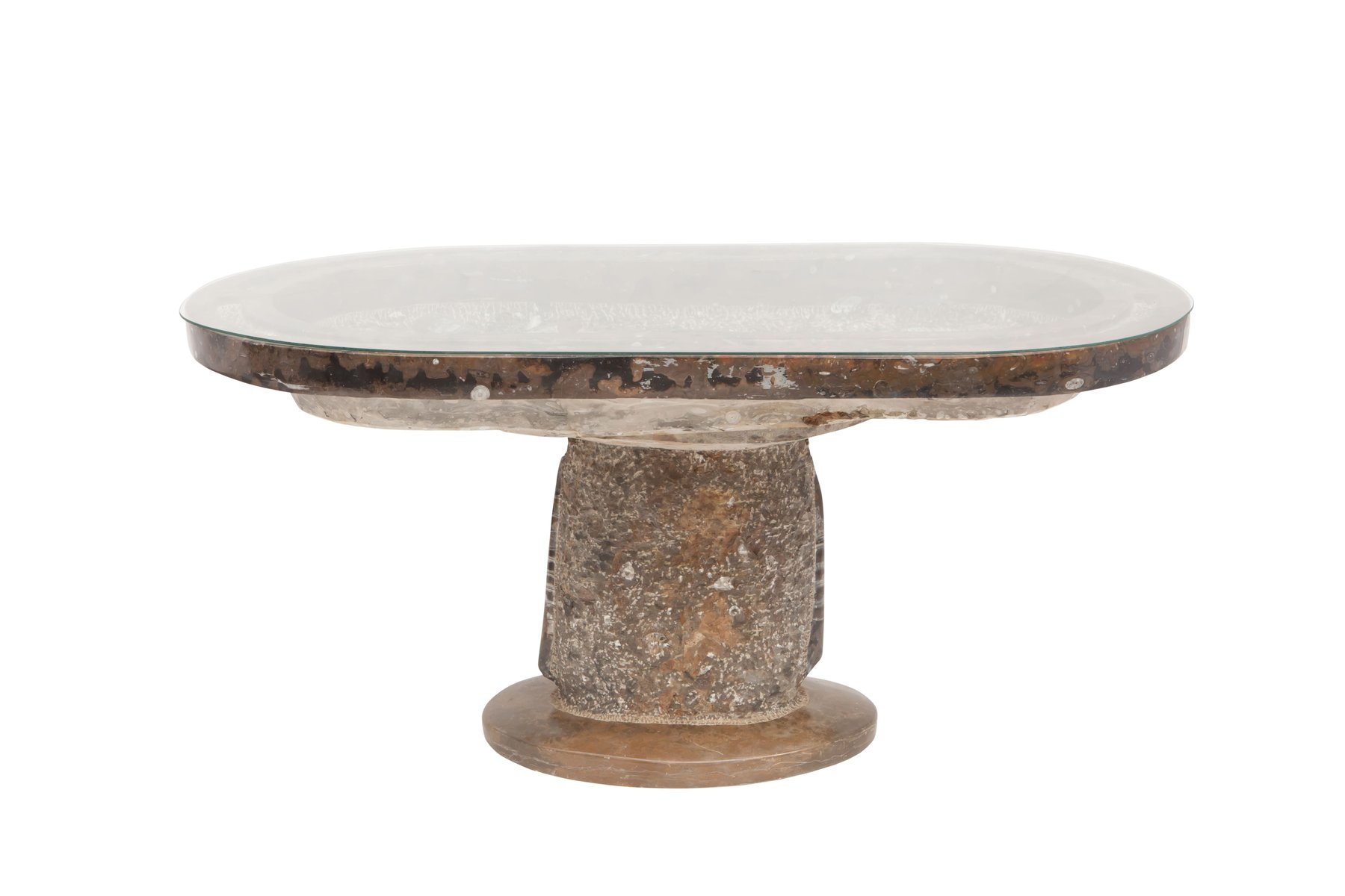 Antique Organic Marble Occasional Table for sale at Pamono