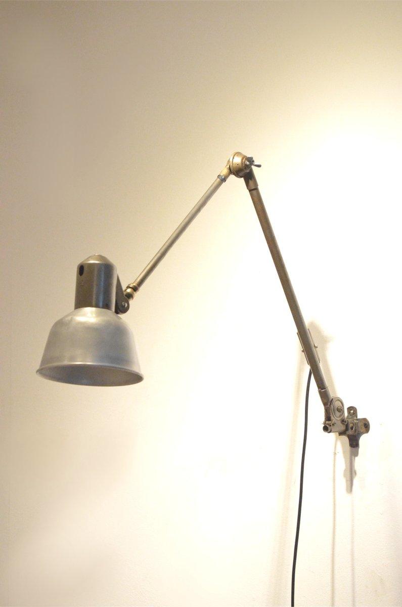 Assez Lampe Articulée Industrielle Vintage avec Bras en Métal de SIS en  XG93