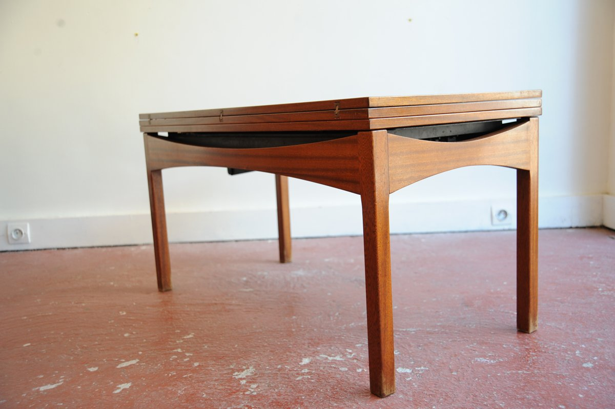 Vintage Height Adjustable Rosewood Coffee Or Dining Table For Sale At Pamono