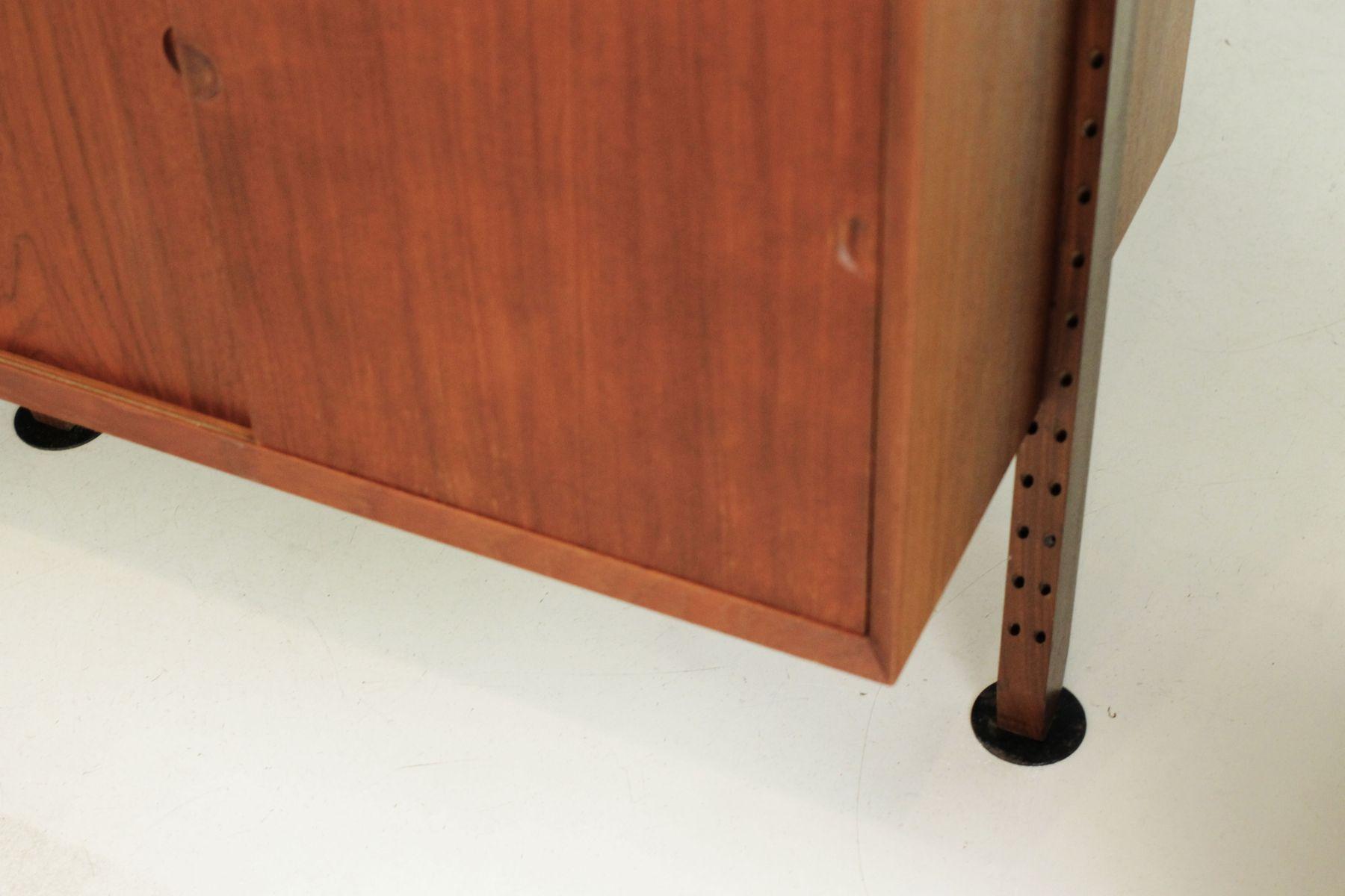d nischer raumtrenner regal von poul cadovius f r cado 1960er bei pamono kaufen. Black Bedroom Furniture Sets. Home Design Ideas