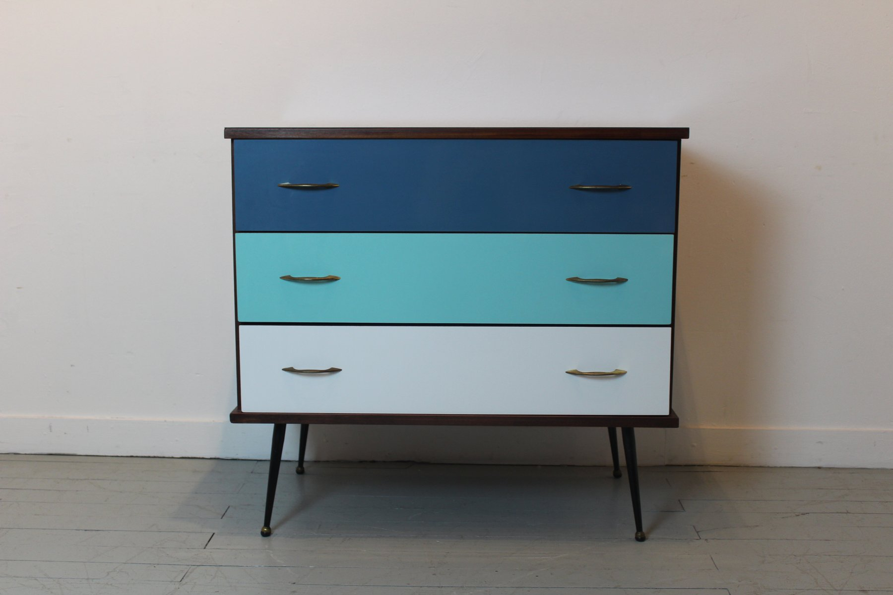 Mid Century French Chest Of Drawers