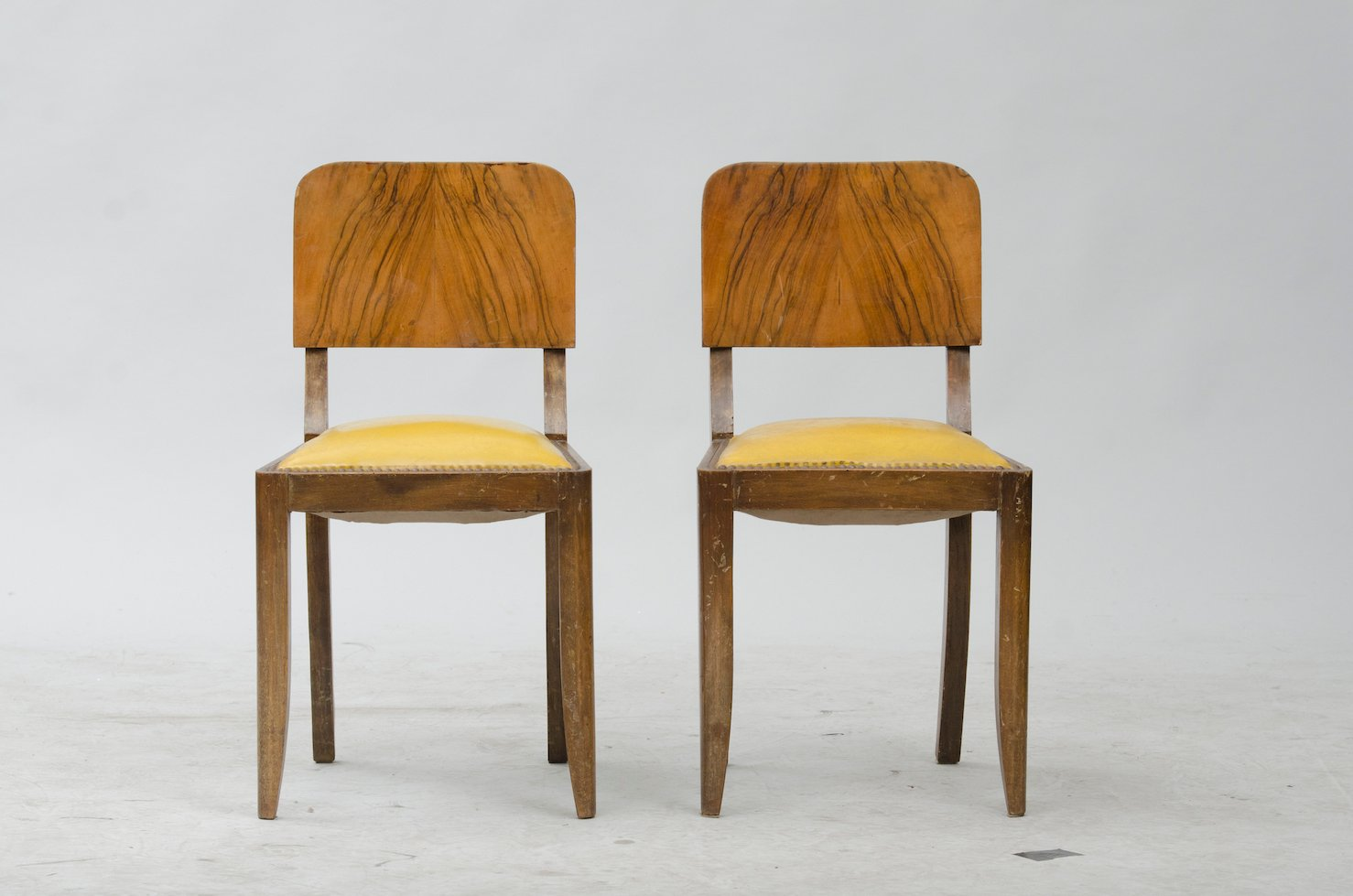 Vintage french dining chairs set of 6 for sale at pamono for Set of 6 dining chairs