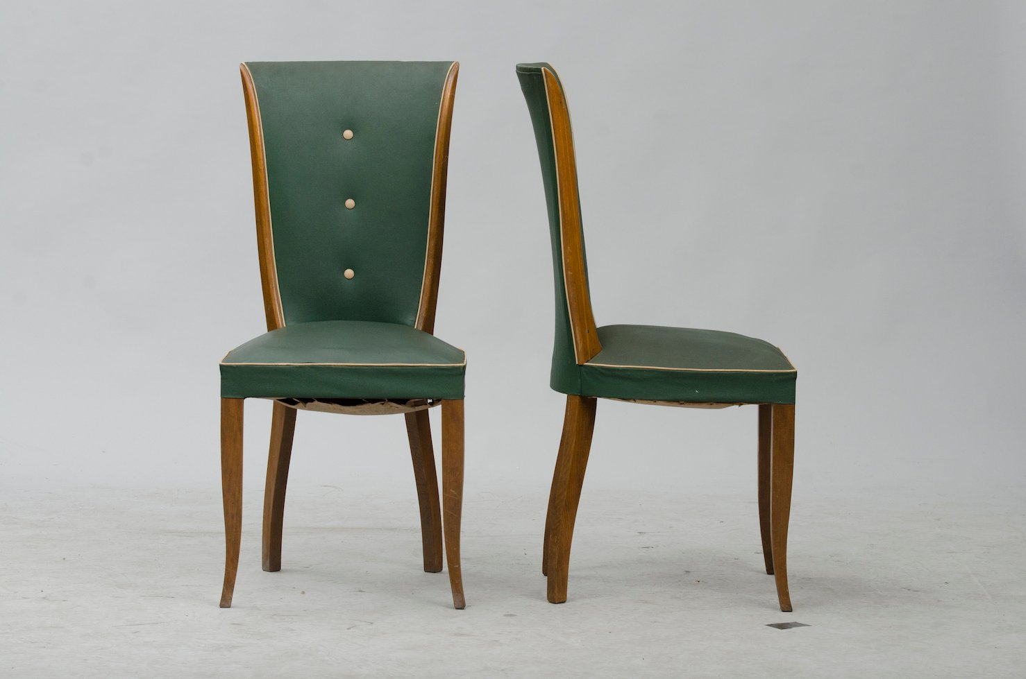 Art deco dining chairs set of 6 for sale at pamono for Set of 6 dining chairs