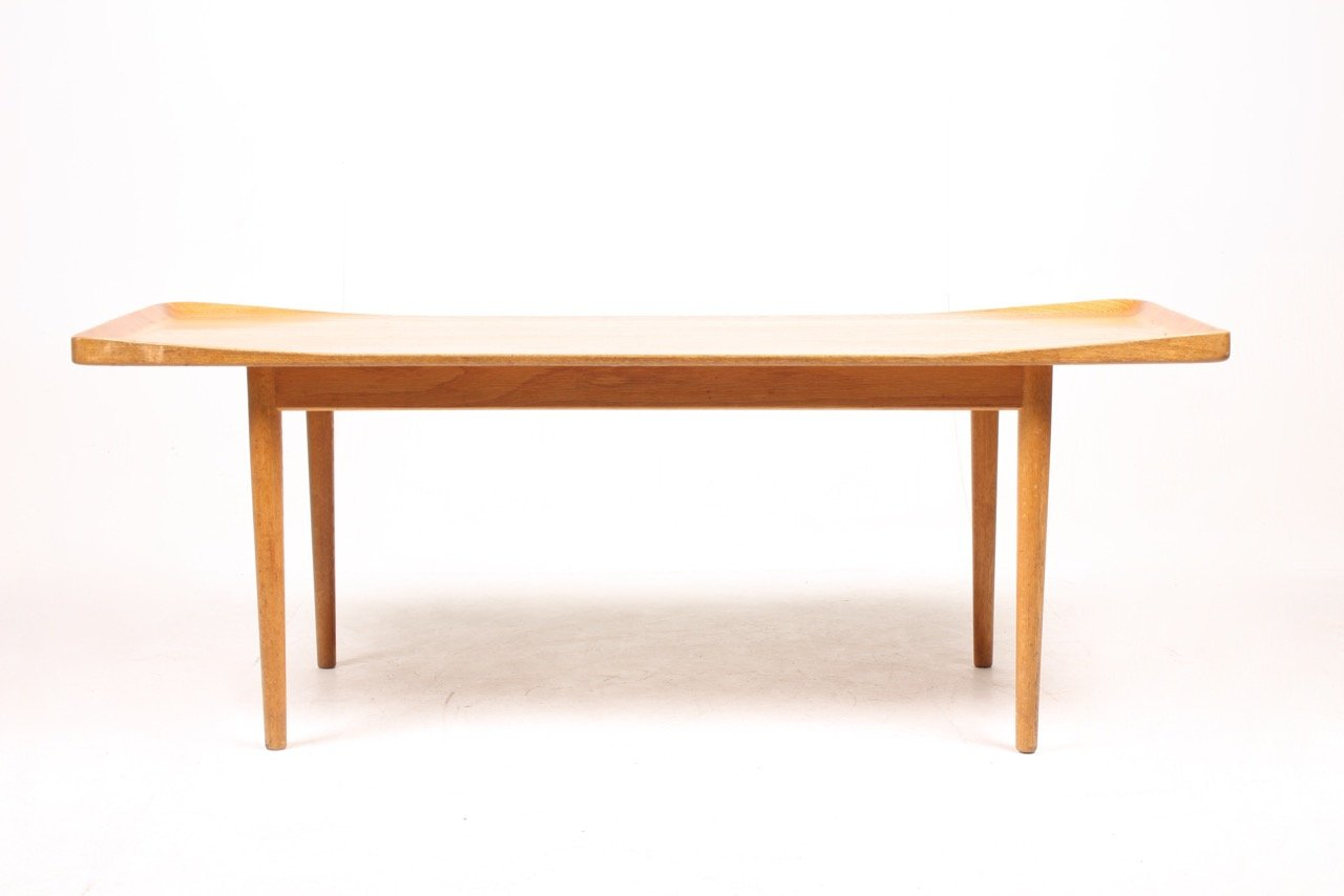 Solid Oak Coffee Table 1960s For Sale At Pamono