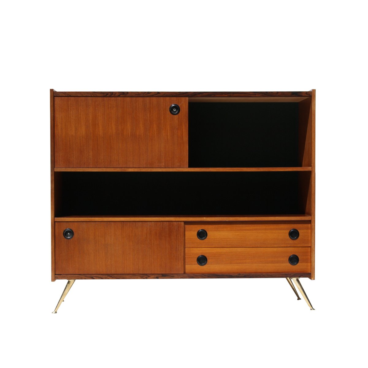 italienisches teak sideboard 1960er bei pamono kaufen. Black Bedroom Furniture Sets. Home Design Ideas
