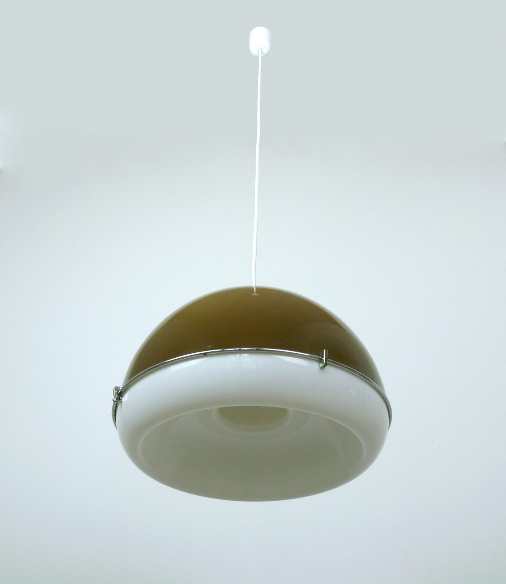 Pendant Light Shade Plastic : Ceiling light with bi colored plastic shade s for