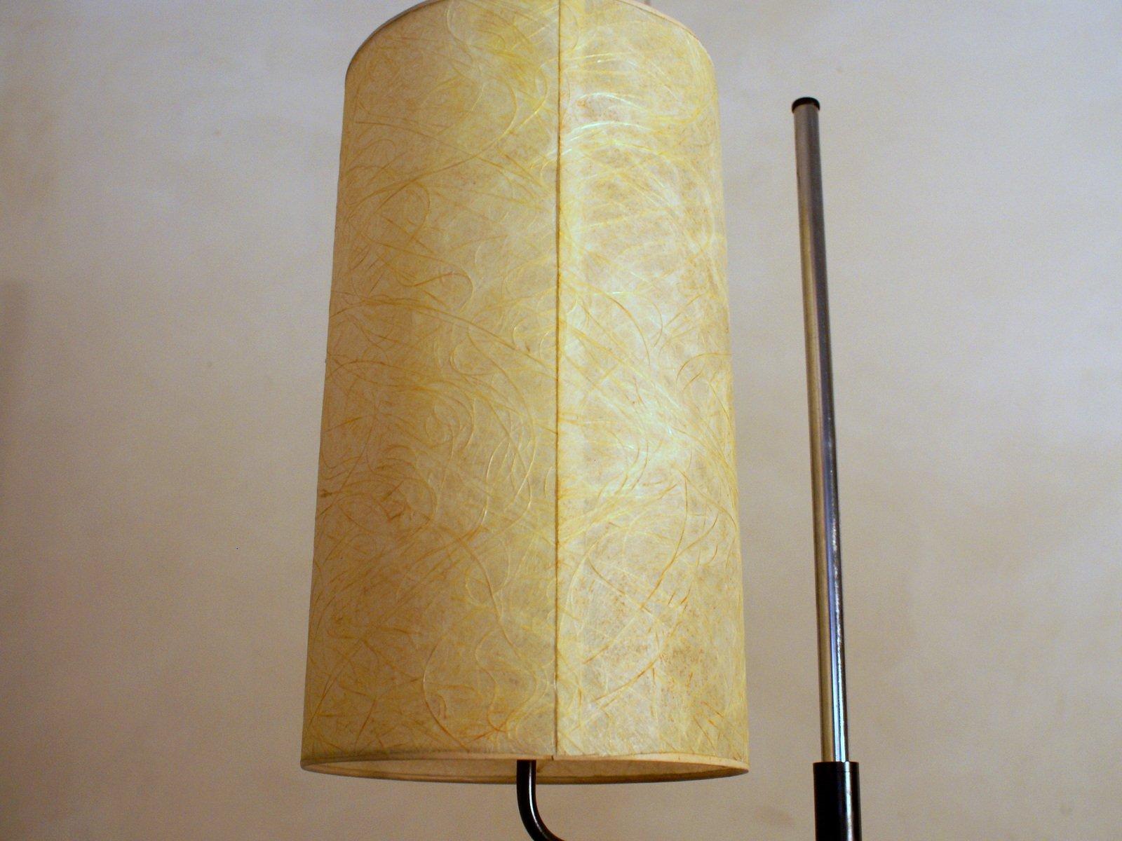 vintage stehlampe mit fiberglas schirm bei pamono kaufen. Black Bedroom Furniture Sets. Home Design Ideas