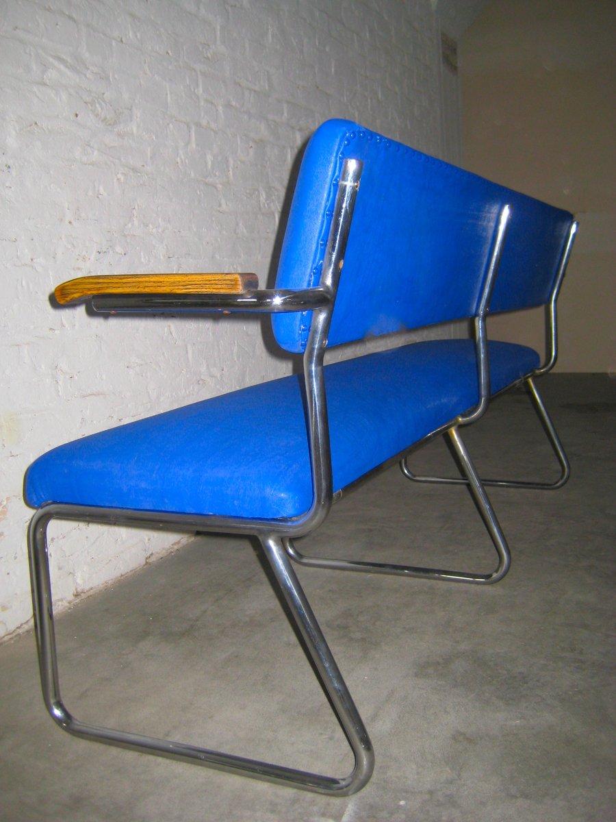 deutsche vintage stahlrohr sitzbank bei pamono kaufen. Black Bedroom Furniture Sets. Home Design Ideas