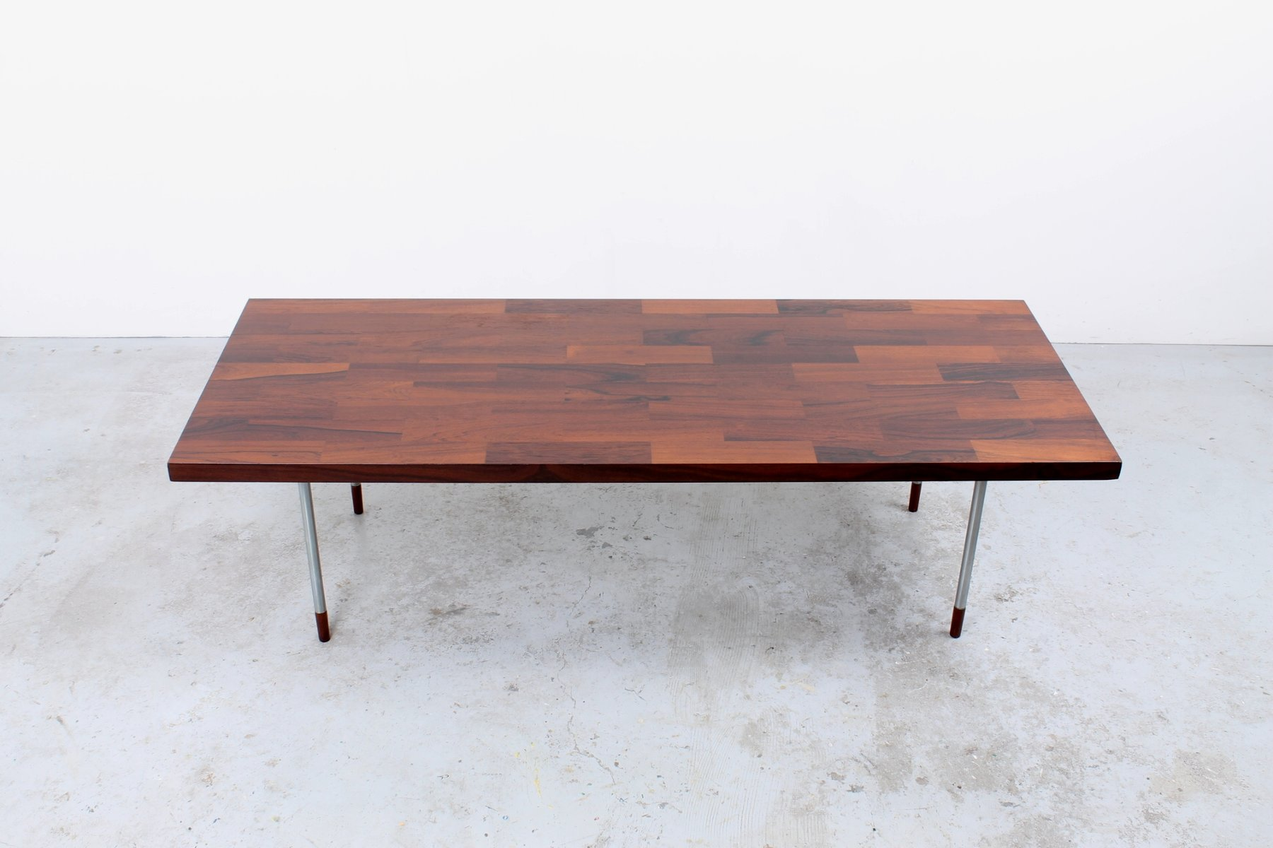 Vintage Coffee Table with Rosewood Inlay from Fristho for sale at