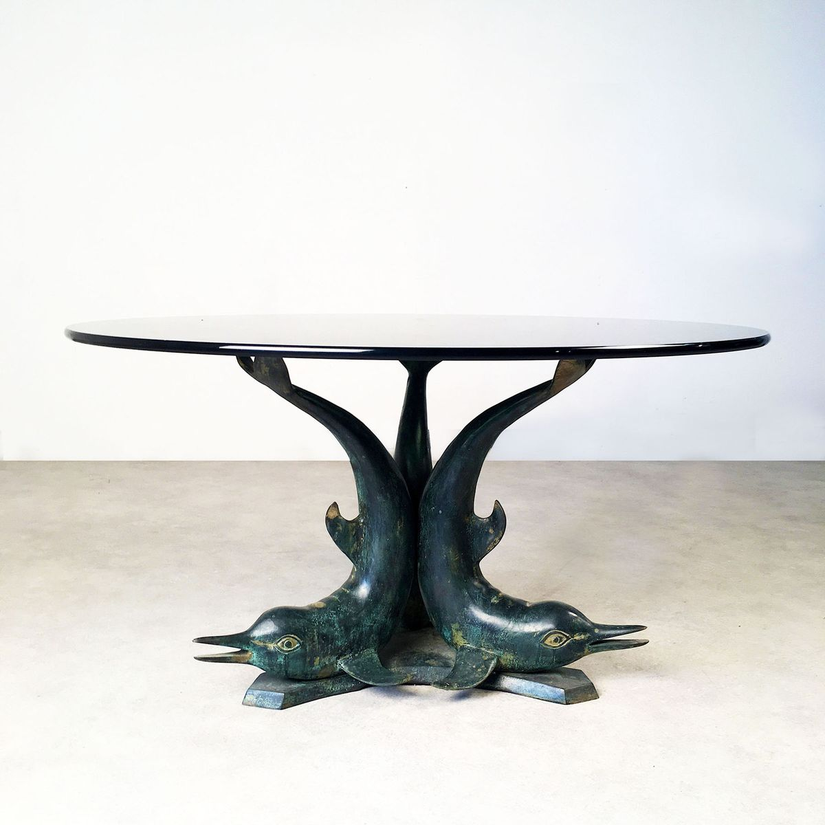 dolphin coffee table, 1970s for sale at pamono