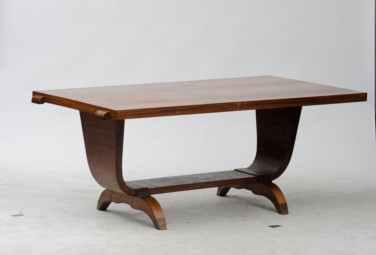 Vintage Art Deco Dining Table for sale at Pamono : vintage art deco dining table 1 from www.pamono.com.au size 1439 x 976 jpeg 571kB