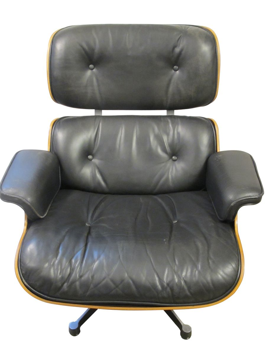 lounge chair by charles ray eames for vitra 1960s for sale at pamono. Black Bedroom Furniture Sets. Home Design Ideas