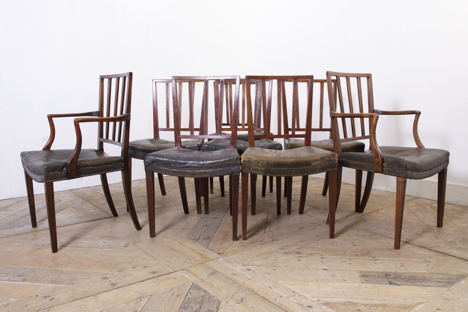 George III Dining Chairs 1820s Set Of 8 For Sale At Pamono