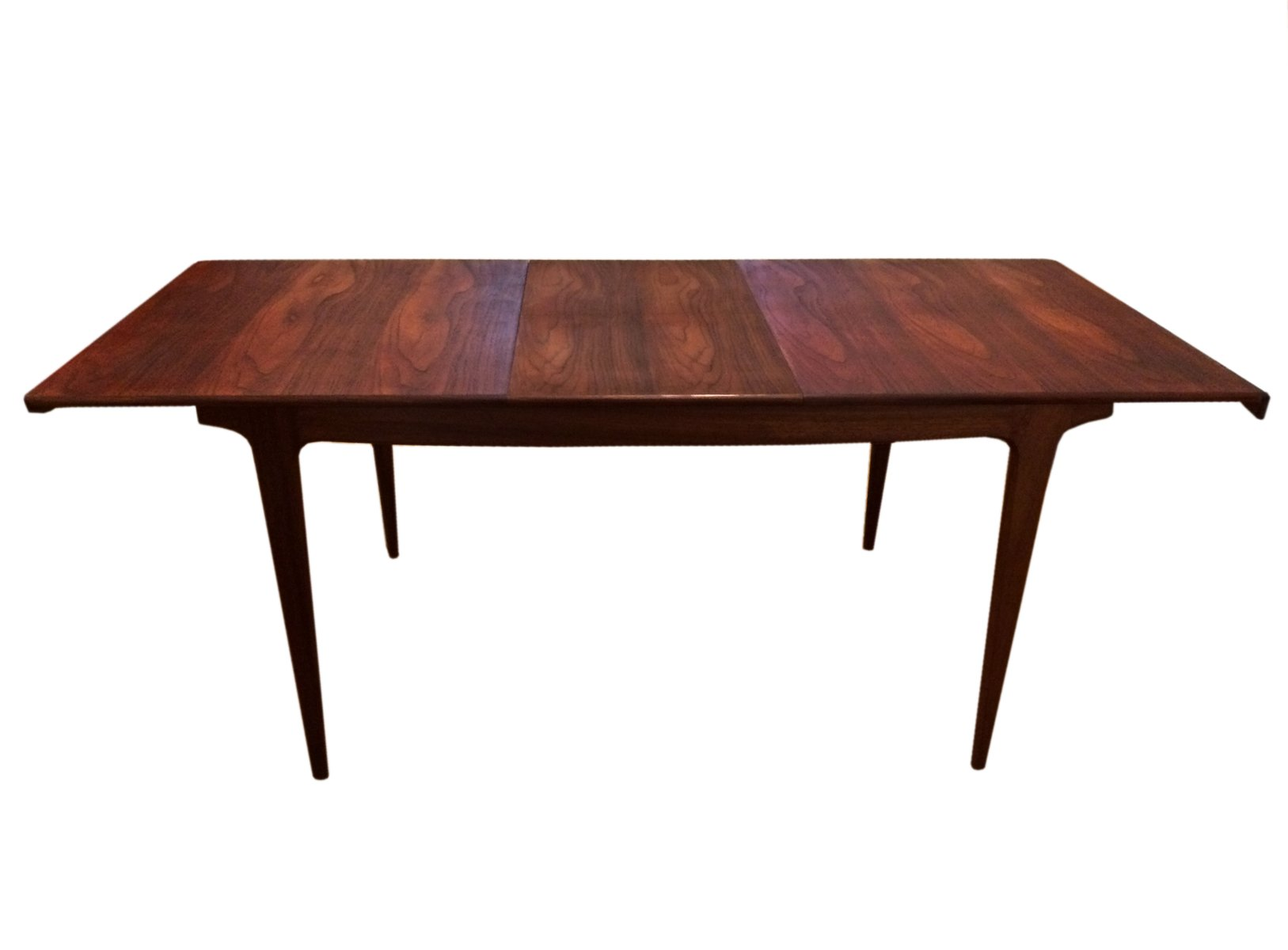 Table de salle manger 8 places mid century en teck par for Table salle a manger 8 places