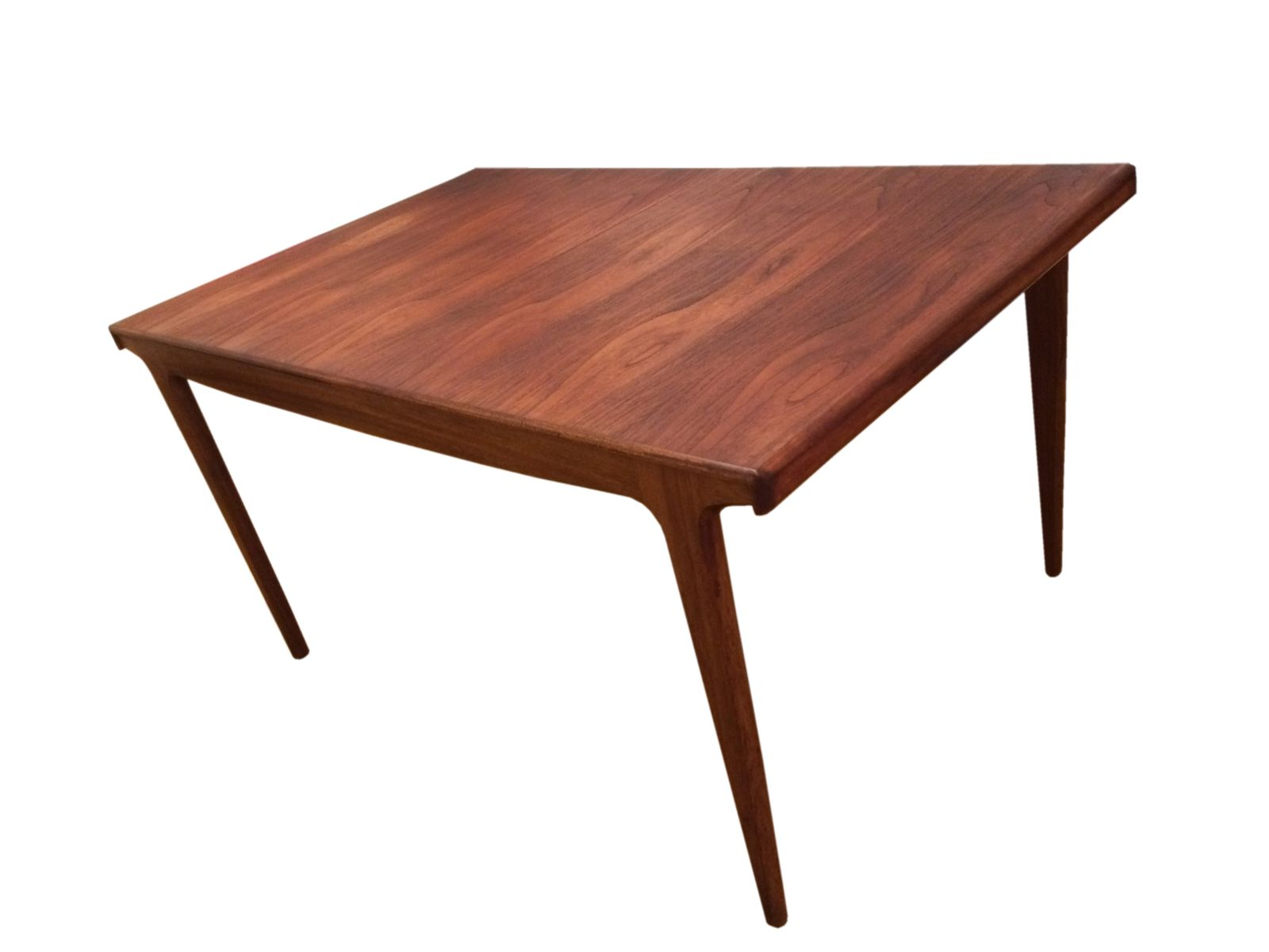 Table de salle manger 8 places mid century en teck par for Table de salle a manger 12 places