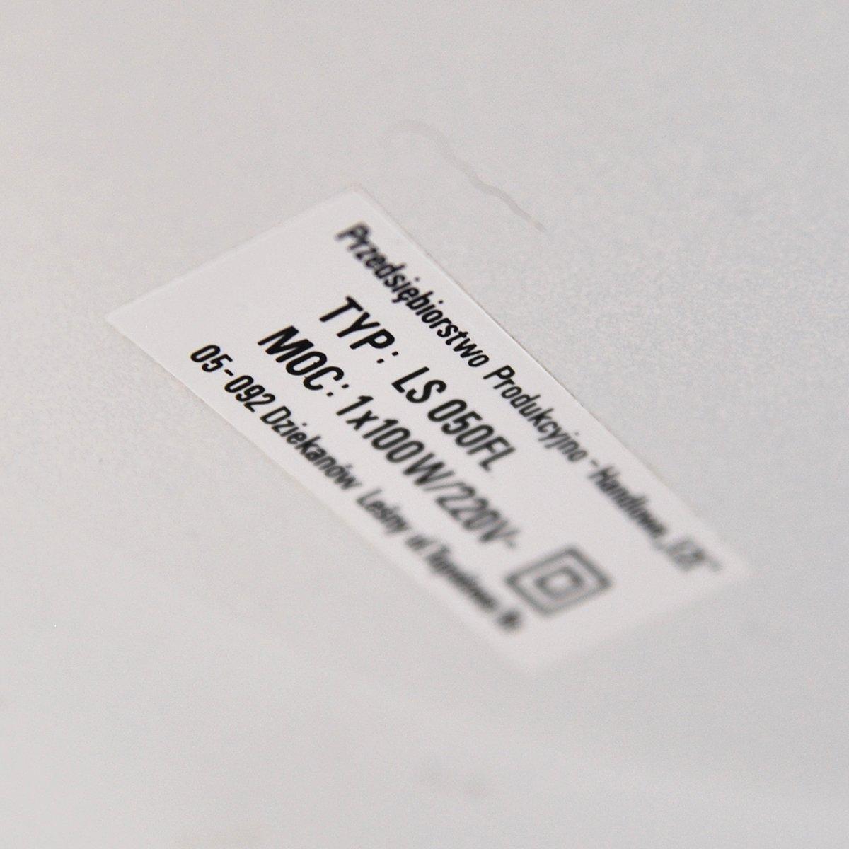 polnische stehlampe von pph eze dzier oni w 1980er bei pamono kaufen. Black Bedroom Furniture Sets. Home Design Ideas