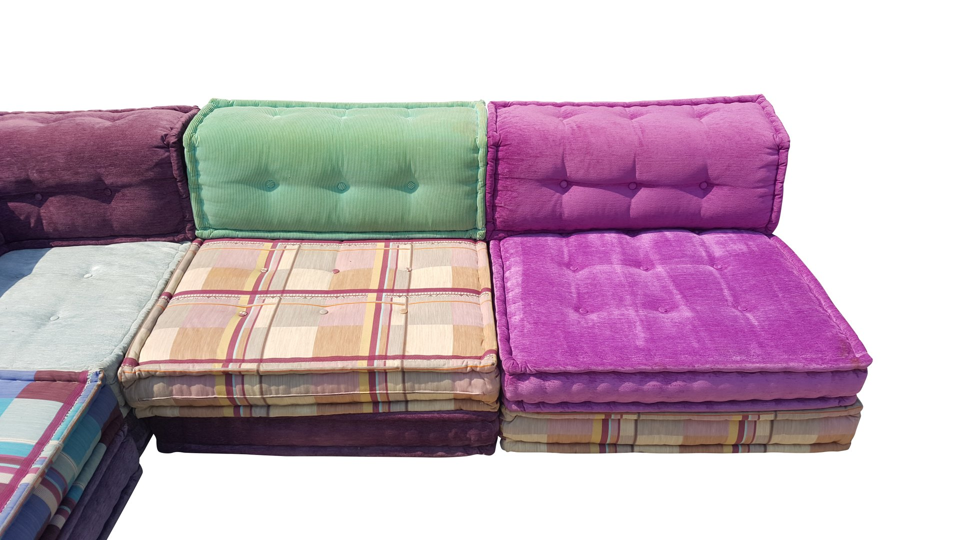 modulares mah jong sofa von hopfer hans f r roche bobois. Black Bedroom Furniture Sets. Home Design Ideas
