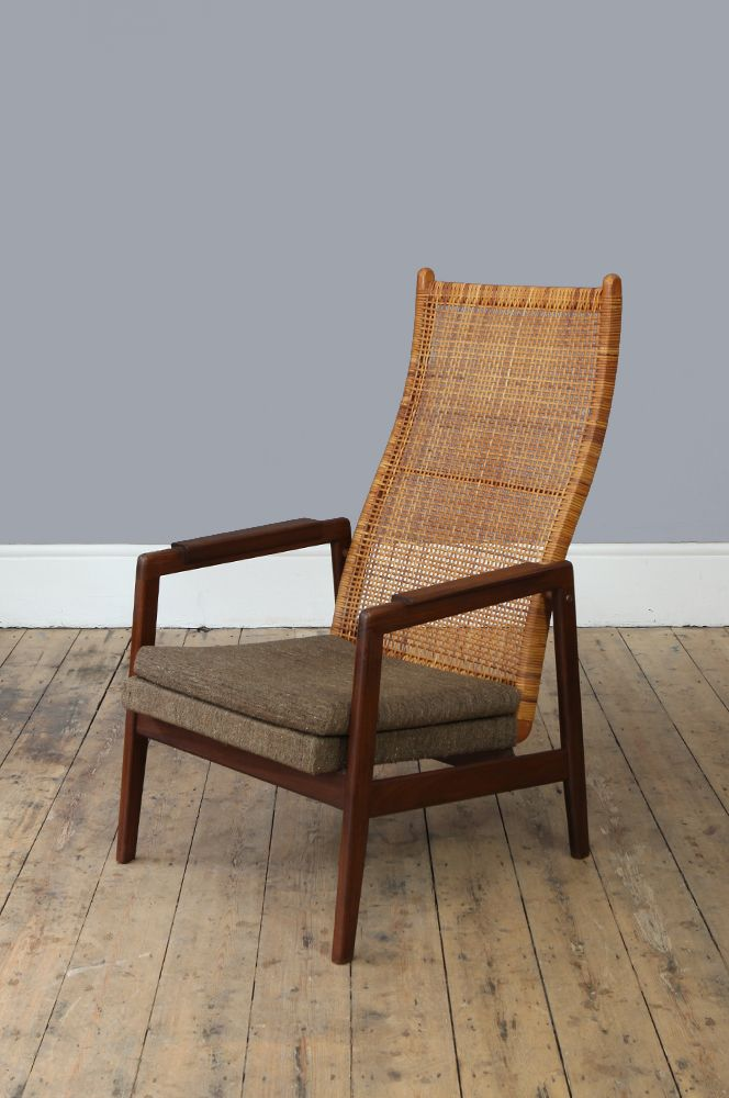Dutch high back chair from gebroeders muntendam 1960s for for Dutch design chair uk