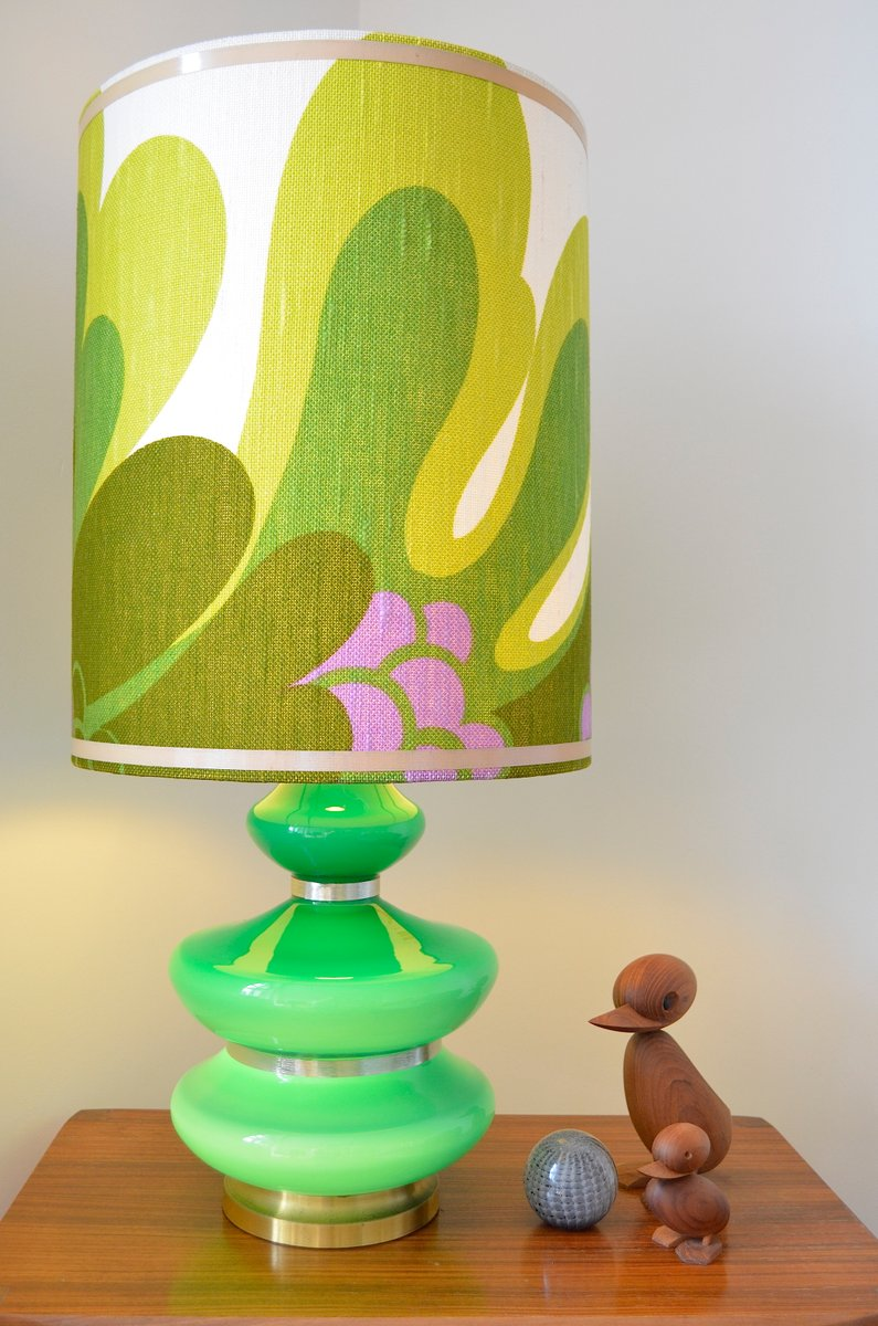 flower power style table lamp 1970s for sale at pamono. Black Bedroom Furniture Sets. Home Design Ideas